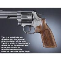 Hogue Taurus 85 Handgun Grip Pau Ferro No Finger Groove Stripe Cap Checkered 67331
