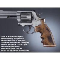 Hogue Ruger Security Six Handgun Grip Pau Ferro Stripe Cap Checkered 87321