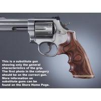 Hogue Trooper Mk III Handgun Grip Rose Laminate Stripe Cap Checkered 42521