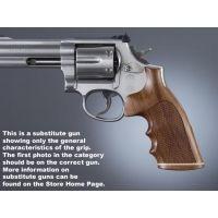 Hogue Ruger Redhawk Handgun Grip Rosewood Stripe Cap Checkered 86921