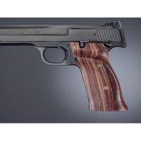 Hogue S&W 41 Handgun Grip Kingwood R. hand thumb rest checkered 41661