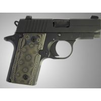 Hogue G-10 Grips for SIG Sauer P238, Checkered pattern