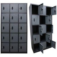 Homak 15 Door Steel Locker - Stack Five High