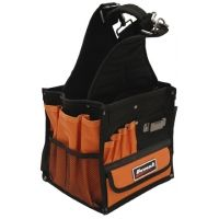 Homak 8in Electrician's Tool Bag w/ 28 Pockets