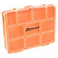 Homak Short Plastic Storage Box
