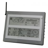 Honeywell PRO Wireless Weather Station w/ Forecaster, Solar Anemoneter, In/Out Temp & Humidity, Ice Warning Alarm TE928W