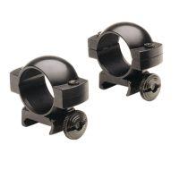Horton Archery Weaver-Style Steel Rings 7/8 Inch One Pair Black SS200