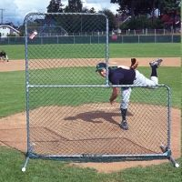Jugs Sports 6-foot Quick-Snap L-Shaped Pitchers Screen S1000