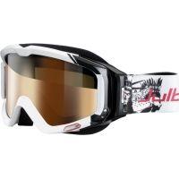 Julbo Glenak Rx Insert Goggles, White/Black w/ Camel Cylindrical Lens