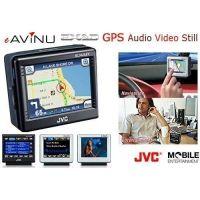 JVC GPS eAViNU Portable Navigation System w/ SD Card Slot, 20GB HDD, Video, Audio Playback KVPX9SN