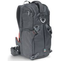 Kata 3 in 1 Sling Backpack for a DSLR with a mid-range zoom lens attached + 1-2 extra lenses + accessories + netbook