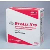 Kimberly Clark WypAll X70 Manufactured Rags, Kimberly-Clark Professional 41200-50 White