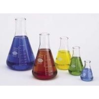 Kimble/Kontes KIMAX Brand Erlenmeyer Flasks, Narrow Mouth, Reinforced Beaded Top, Capacity Scale 26500 500