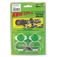Kwik-Site See-Thru Mounts Savage AccuTrigger Satin KS-ACUTRIGS