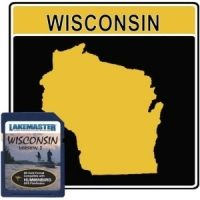 Lakemaster LakeMaster Marine Maps - Wisconsin, Fox River, St. Louis River, Mississippi River