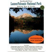Earthwalk Press: Lassen Volcanic National Park Map & Guide