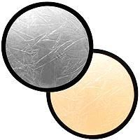 Lastolite 48in Collapsible Reflector - Silver/Gold LL-LR4834