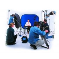 Lastolite Camera Lighting Equipment 6'x7' Collapsible Chromakey - Blue LL LC5988
