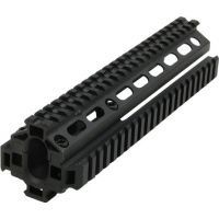 Leapers UTG SKS Tactical Quad-rail Forearm System w/ Extra Bottom Plate MNT-HG569SA