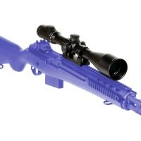 Leapers AccuShot 8-32X56 30mm Side Wheel Adjustable Turret (SWAT) A.O. Scope w/ TS Platform SCP3-P832AOMDL
