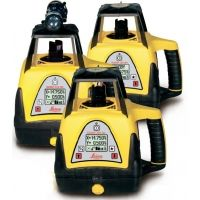Leica Geosystems 320SG Rugby Machine Control Laser and Rod Eye Plus
