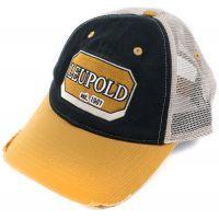 Leupold Black & Gold Mesh Logo Hat - PROMO LBGMHAT
