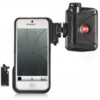 Manfrotto KLYP Case for iPhone 5 with Connectors and ML240 LED