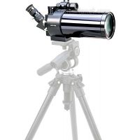 """Meade ETX-90 Spotting Scope UHTC Coating with THREE 26mm/48x, 15mm/83x, 9.7mm/129x Super Plossl Eyepieces (1.25""""), Erecting Prism & Finderscope"""
