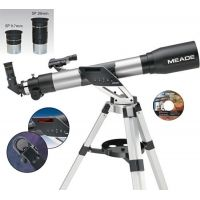 Meade NGC-70TC Refractor Telescope 20220 w/ GoTo Computer, Red Dot ViewFinder, Tripod, Eyepieces 20220