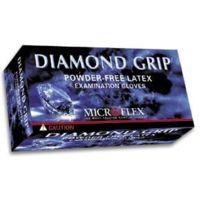 Microflex Diamond Grip Latex Gloves, Microflex MF-300-L Large