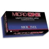 Microflex Micro One Lightly-Powdered Latex Gloves, Microflex MO-150-M