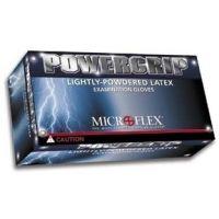 Microflex Powergrip Lightly-Powdered Latex Gloves, Microflex PG-199-XS