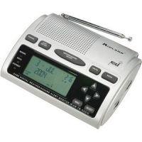 Midland Radio AM/FM All Hazards Weather Alert Clock Radio