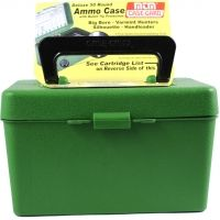 MTM 50 Round Large Rifle Ammo Box H50RL10