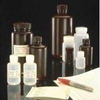 Nalge Nunc Packaging Bottles, HDPE, with Screw Caps, NALGENE 312189-0032 Natural, Wide Mouth Bottles