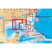 Navionics Platinum Plus Central Gulf of Mexico Marine Map