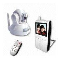 Naxos Wireless Remote Control Surveillance Baby-Monitor Color Camera Kit 860Q