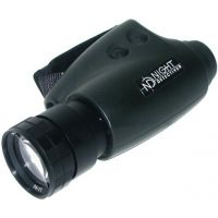 Night Detective Ergo 500 Night Vision Monocular - 5x magnification modification with tripod adapter - ND-E500