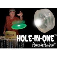 Nite Ize HIO-07-02 Hole-In-One White LED Light to Illuminate Your Flying Disc