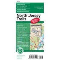 NY/NJ Trail Confrnce: North Jersey Trails Map