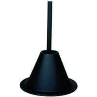 On Time Wildlife Feeders Aluminum Mounting Funnel , 101 Color: Black,  Package Type: Box, 26% Off