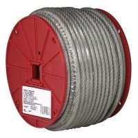 Campbell 1/4in-7x19 Ctd Cable Reel 193-7000897