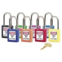 Master Lock 6 Pin Red Safety Lock-out Padl 470-410RED