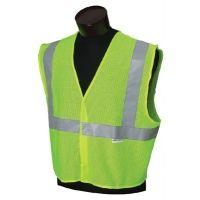 ASMC Vest Cl2 Msh Lim/slvstandxl/2x 029-3022297