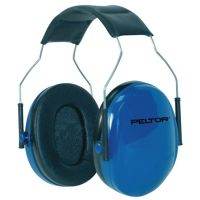 Peltor Junior Earmuffs Designed For Women And Children Adjustable Headband Blue 97023-00000