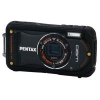 """Pentax Optio W90 12 Megapixel Water Resistant Compact Digital Camera - 12MP, 5X Wide Optical Zoom, 2.7"""" LCD"""