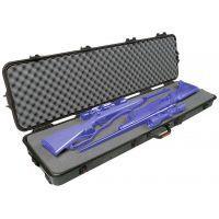 "Plano Molding Bone Collector AW Double Scoped Rifle Case w/ Wheels - 52""x13""x5.25"