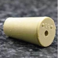 Plasticoid Rubber Stoppers, One-Hole 1--M181