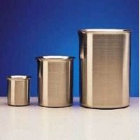 Polar Ware Griffin Beakers, Stainless Steel 2000B