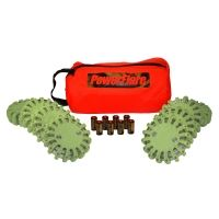 PowerFlare PF-200 Tactical Beacon Softpack 8 - 8 IR Lights, 8 Batteries & Case